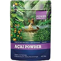Power Superfoods Organic Acai Powder, 100g