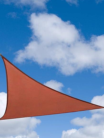 OldMacDonald 20' x 20' x 20' Terra Triangle Sun Shade Sail UV Block