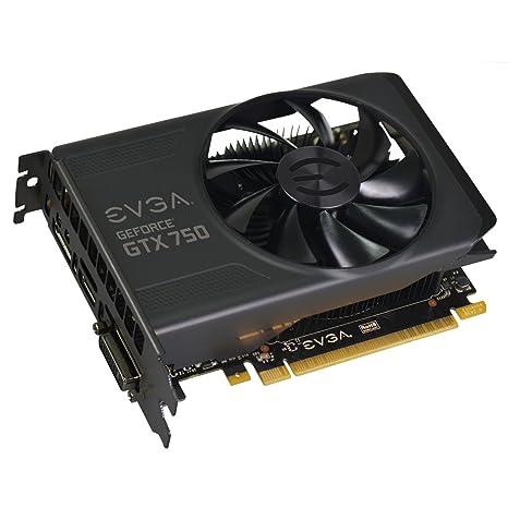 EVGA GeForce GTX750 - Tarjeta gráfica de 1 GB (nVIDIA ...