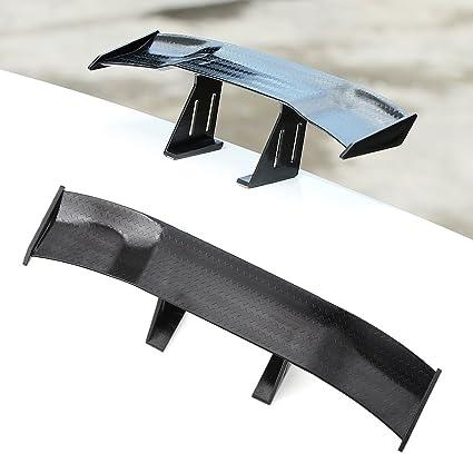 de coche de fibra de carbono diseño cola Ala trasera spoiler ...