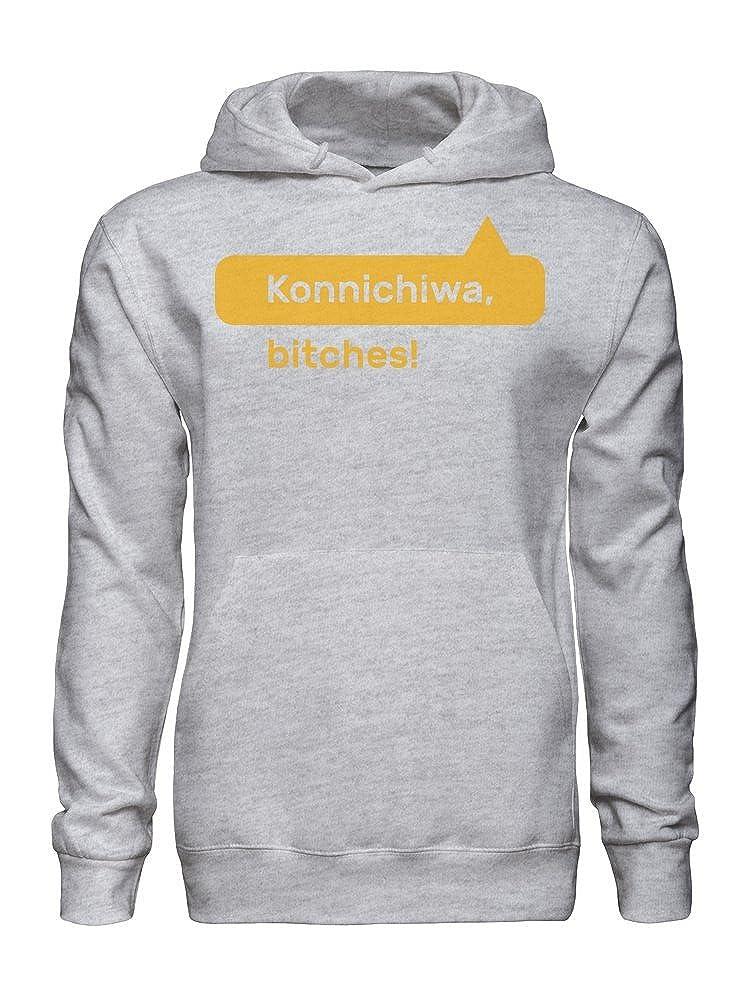Biches Mens Hoodie graphke Konichiwa