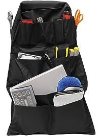 RoadPro RPSB-14BK Black 14-Pocket Seat-Back Organizer