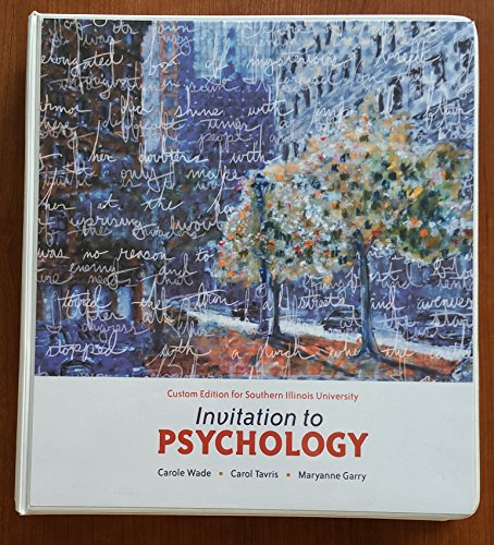 psychology wade tavris pdf 4th edition
