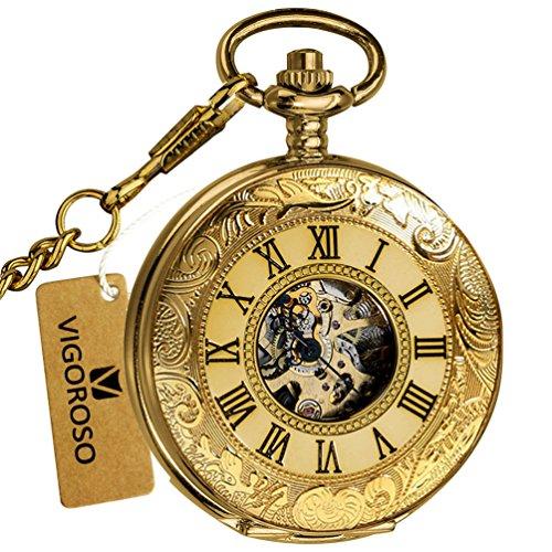 Buy gold hunter case pocket watch
