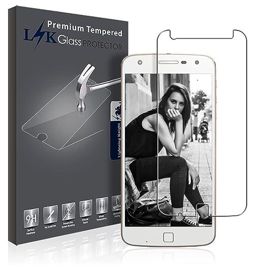 4 opinioni per Moto Z Play Pellicola Protettiva, LK Protezione Schermo Vetro Temperato Screen