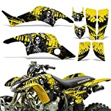 honda 400 ex stickers - Honda TRX400EX 1999-2007 Graphic Kit ATV Quad Decal Sticker Wrap TRX 400 EX REAPER YELLOW