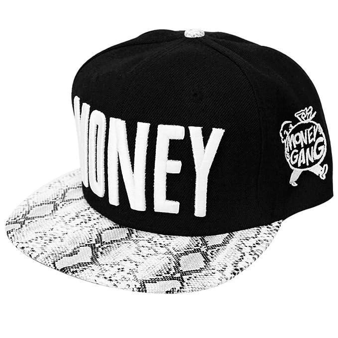 3b0ecc995774a Pleasance Men s Snapback Hip Hop Hat Flat Bill Hat Baseball Cap 2 Colors ( black)