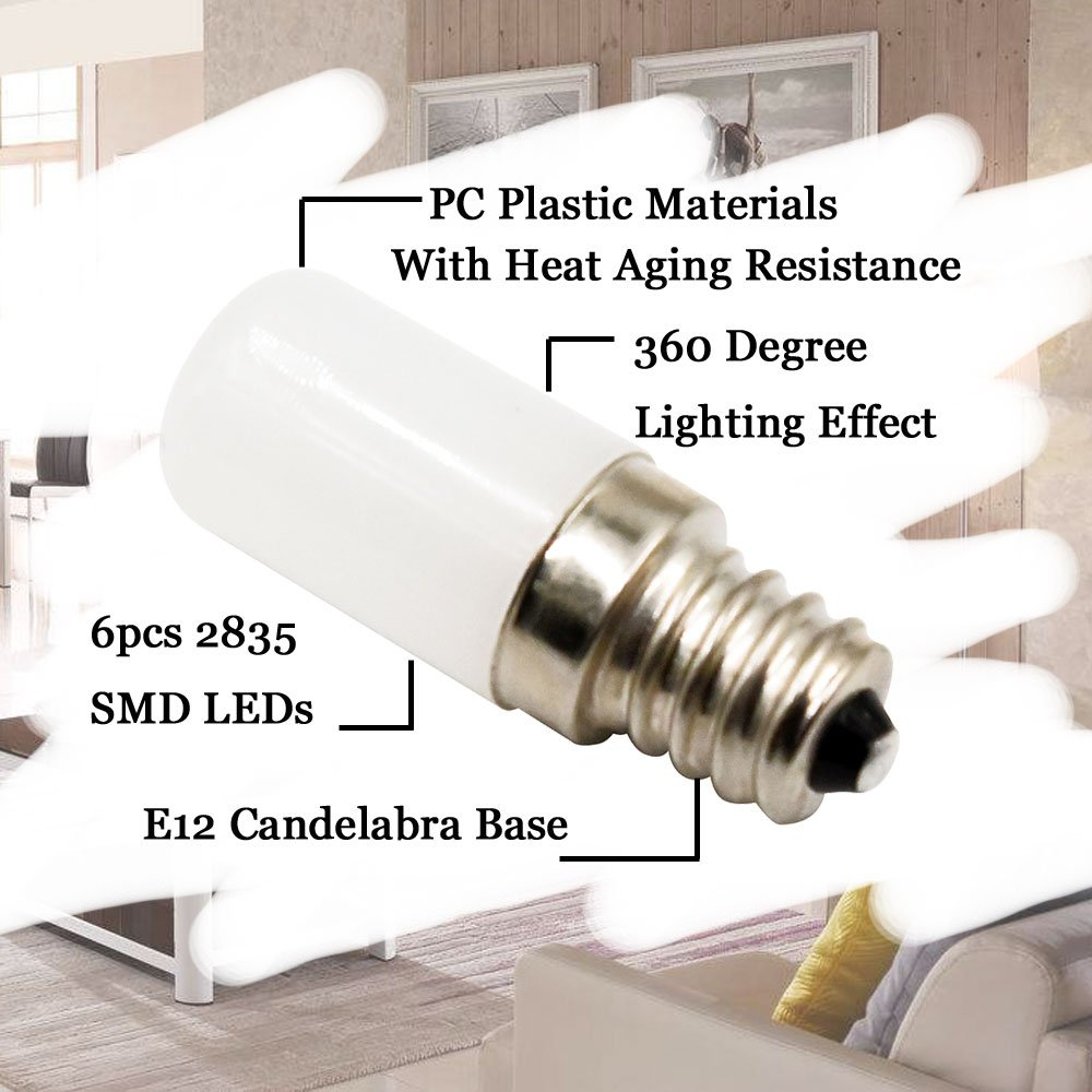 Mini Candelabra Base Led Bulb: Klarlight Mini E12 Candelabra Base LED Bulb 0.5 Watt LED