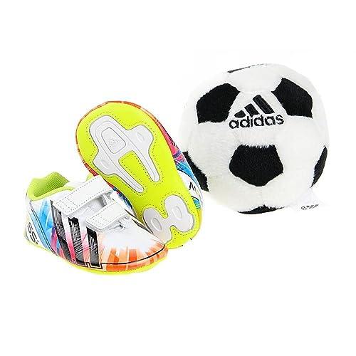 Adidas Messi Crib Pack - Zapatillas infantiles, talla 17: Amazon.es: Zapatos y complementos