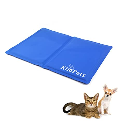 PETCUTE Perro Gato Mascota refrigeración Cool Alfombrilla Cooling Pads Pet Cool Mat para pisos, sofás