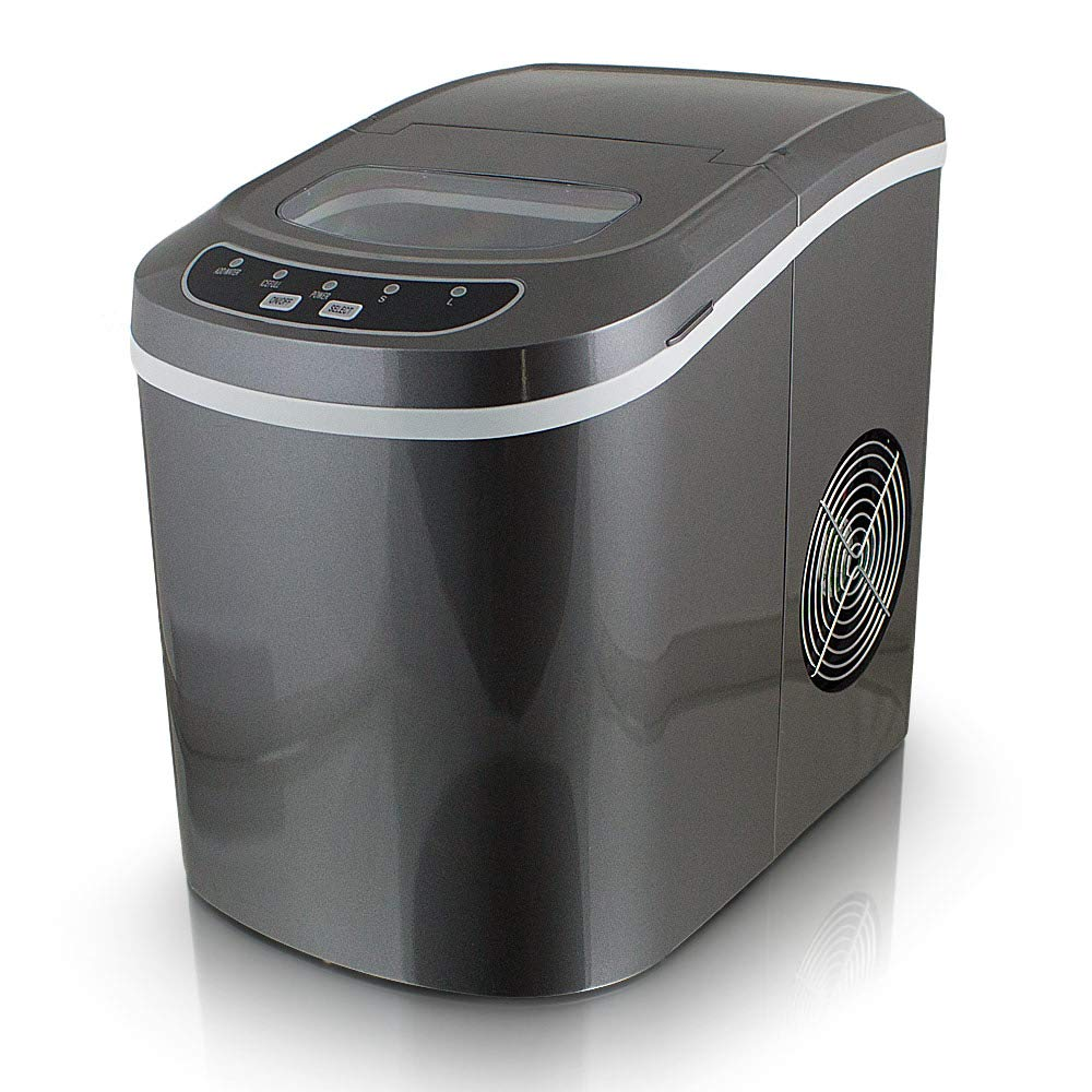 Eiswürfelmaschine Eiswürfelbereiter Icemaker Eisbereiter Eismaschine Juskys®