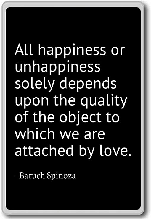 com all happiness or unhappiness solely depends