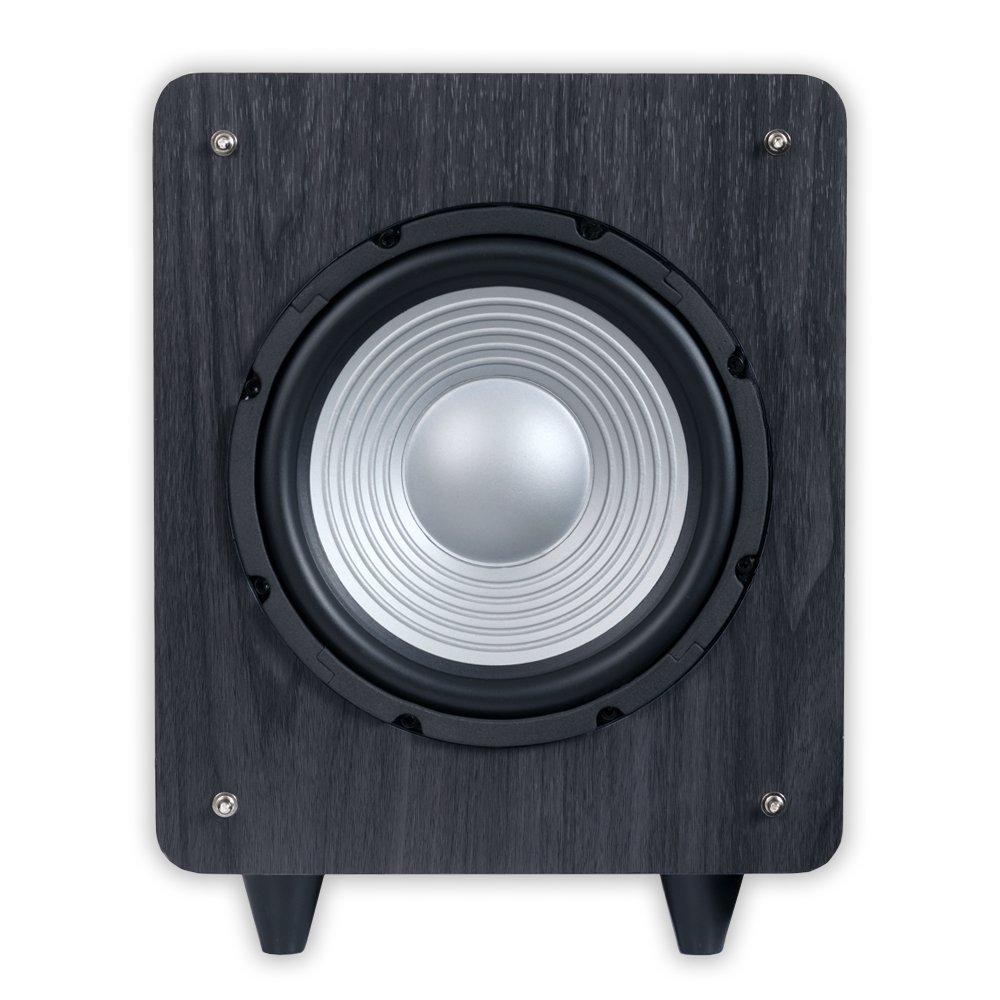 Amazon.com: Acoustic Audio CS-PS8-B Front Firing Subwoofer (Black ...