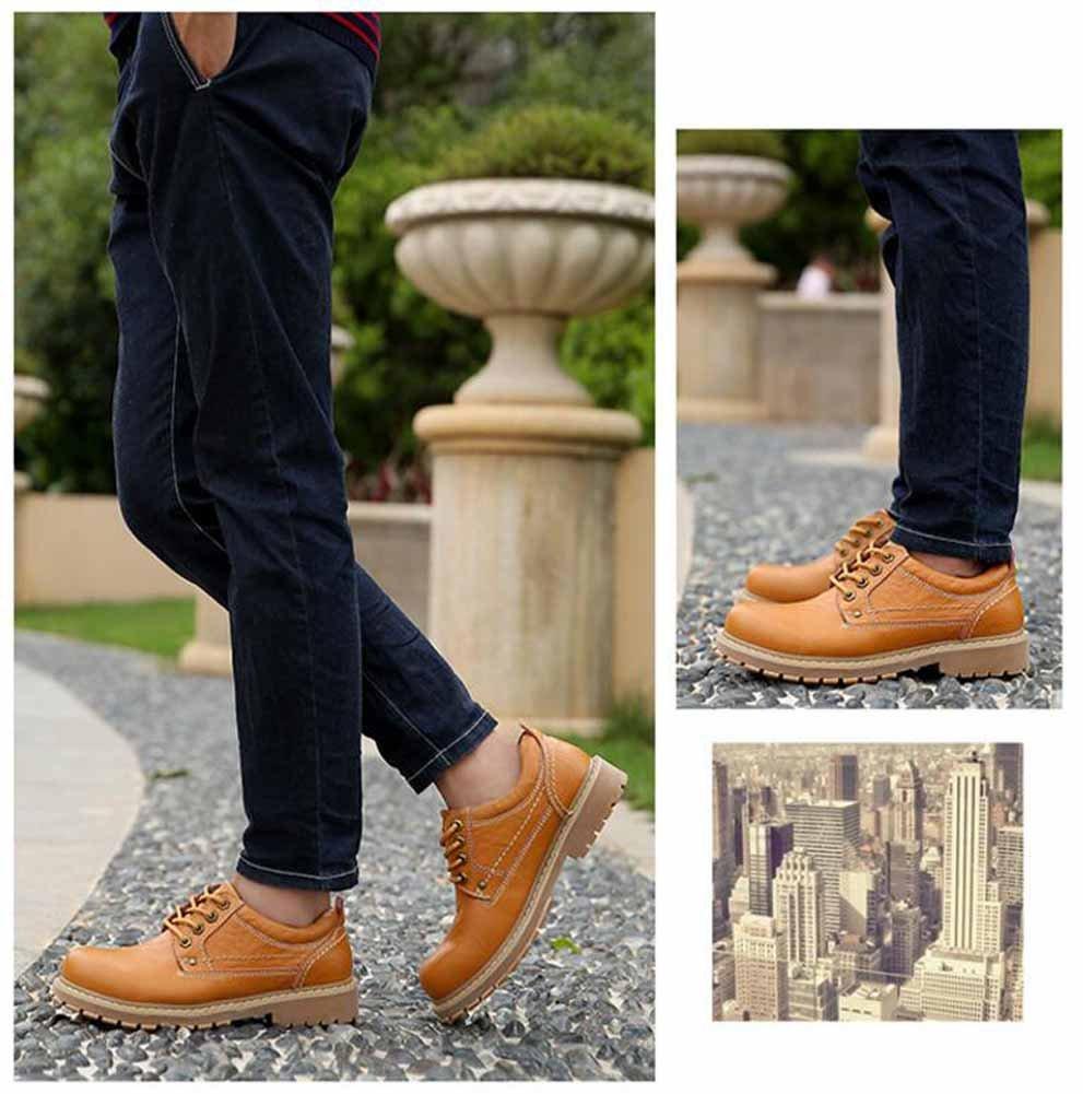 GLSHI Männer Outdoor Outdoor Outdoor Wanderschuhe 2017 Winter Neue Baumwolle Stiefel Leder Stiefeletten Warme Werkzeugschuhe 55e11f