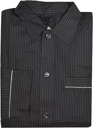 Nero Perla Gray Cotton Pajama Top M