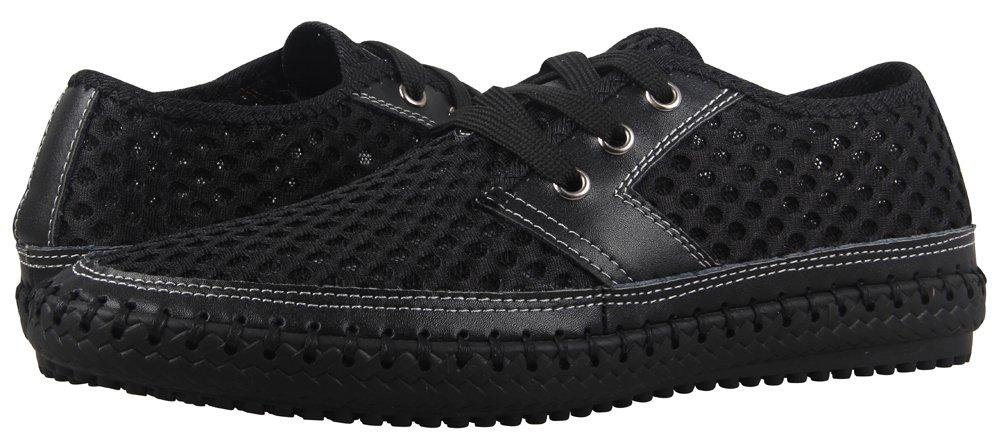 MOHEM Men's Poseidon Casual Water Shoes Mesh Walking Quick Drying Hiking Shoes B019LOO7SQ 9.5 M US|Black3166
