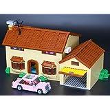 Modbrix 16005 Custom Bausteine Simpsons Haus, Konstruktionenspielzeug, 2523 Bausteine