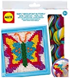 ALEX Toys - Simply Needlepoint Butterfly Kit, 395BN