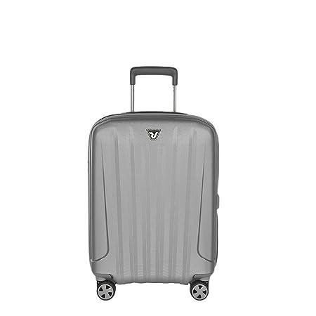 Valise cabine rigide Roncato Unica 55 cm Argent / Noir gris KAx8Pid7p