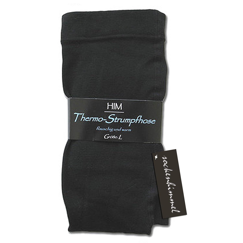 THERMO Strumpfhosen für Damen 3er Pack in schwarz soft & warm mit Innenfleece Winter-Strumpfhose