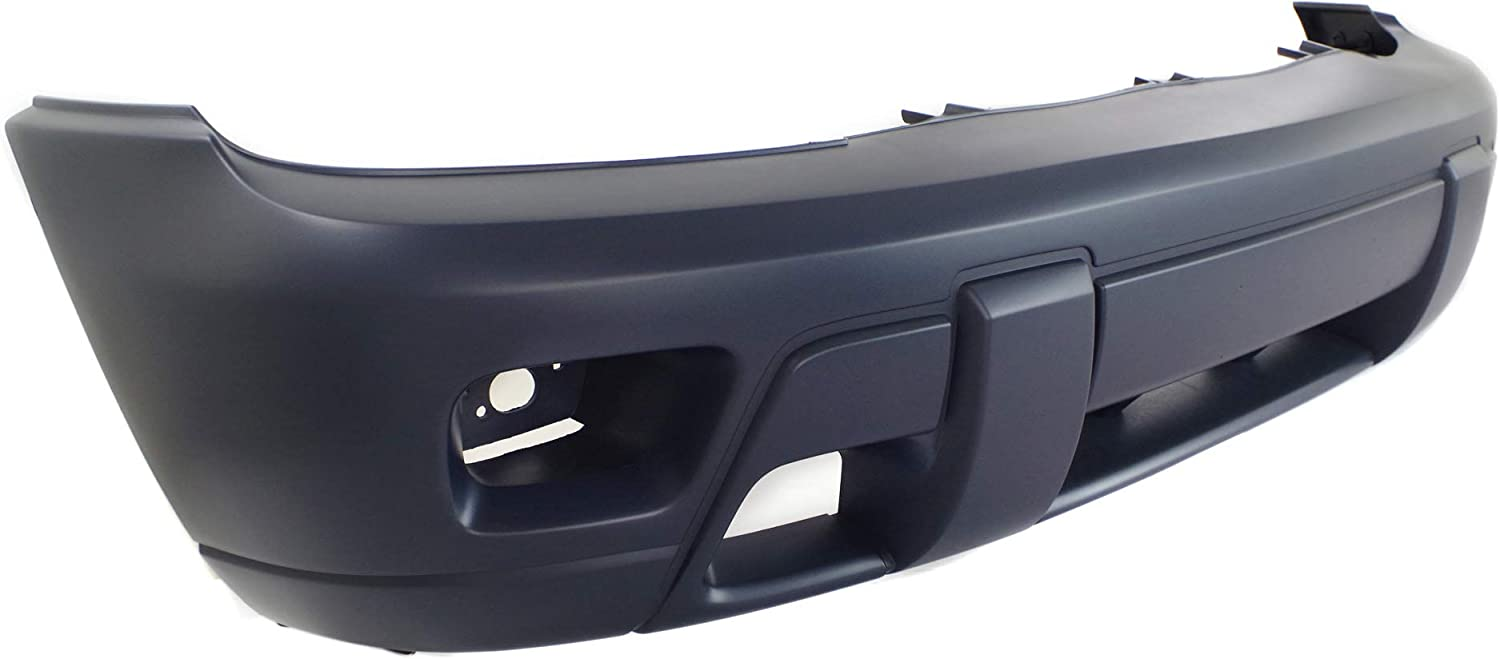 Top Raw-Textured Bottom For Chevy GM1000672 Primered New Front Bumper Cover