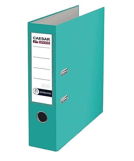 Imperator profesional de papel (A4 polipropileno archivadores de cartón – turquesa (Pack de 20