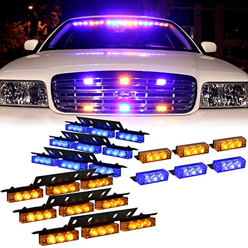 Compare Price Security Patrol Car Lights On
