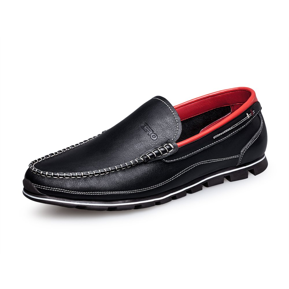 ZRO Men's Classy Black Penny Slip-on Loafer for Driving Working Walking Dress Running 10 M US by ZRO (Image #2)