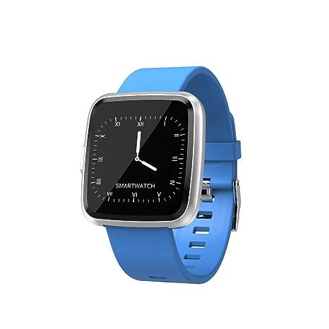 Amazon.com: Smart Watch Waterproof Fitness Tracker Heart ...