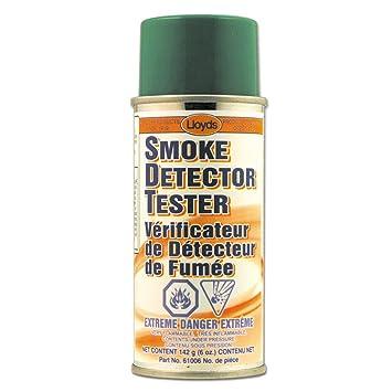 Comprobador de detector de humo, 61006, 142 g (6 oz) aerosol: Amazon.es: Coche y moto