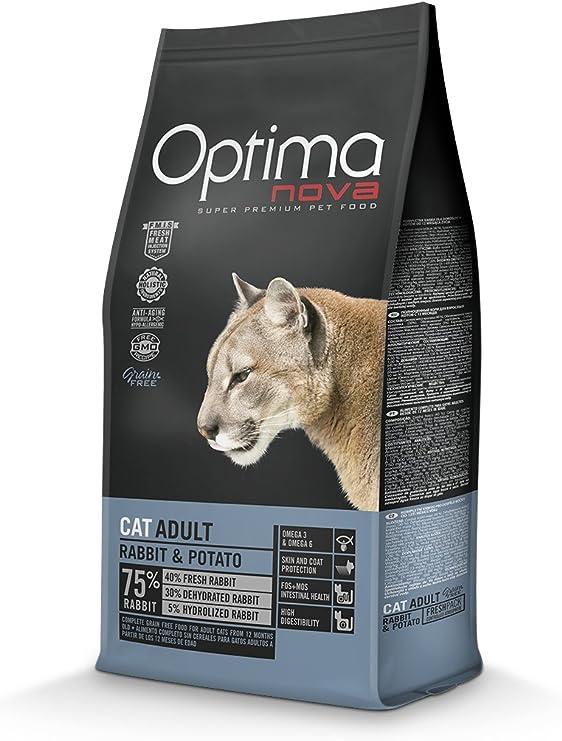 Optima nova Cat Adult Rabbit & Potato Grain Free 2000 g