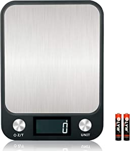 Digital Kitchen Scale for Cooking and Baking