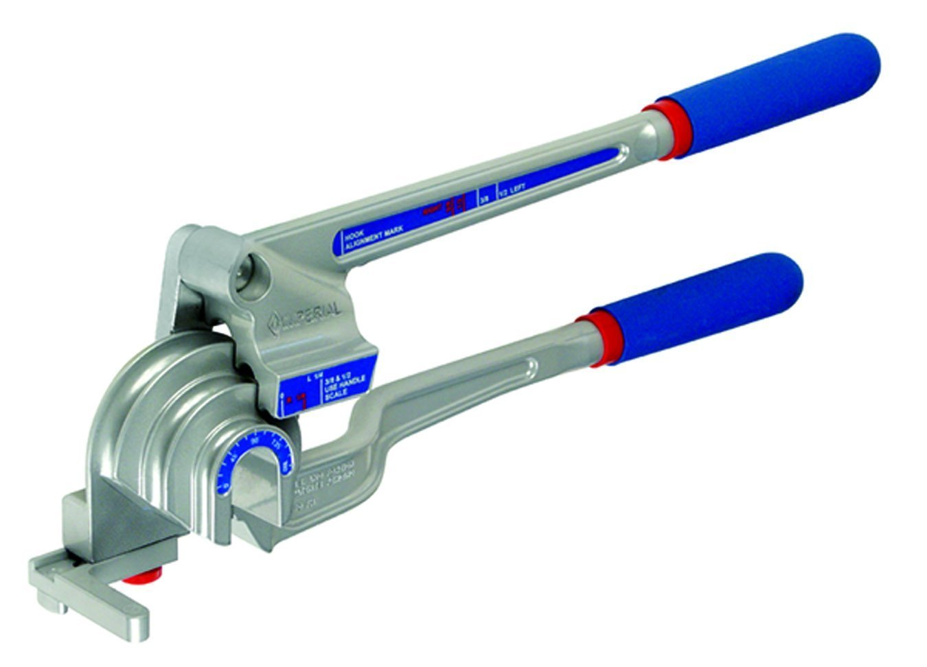 Imperial Tool 370FH Triple Header Tube Bender, 3/16'', 1/4'', 3/8'' and 1/2'' by Imperial Tool