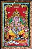 "Lord Ganesh 43"" X 30"" Tapestry"