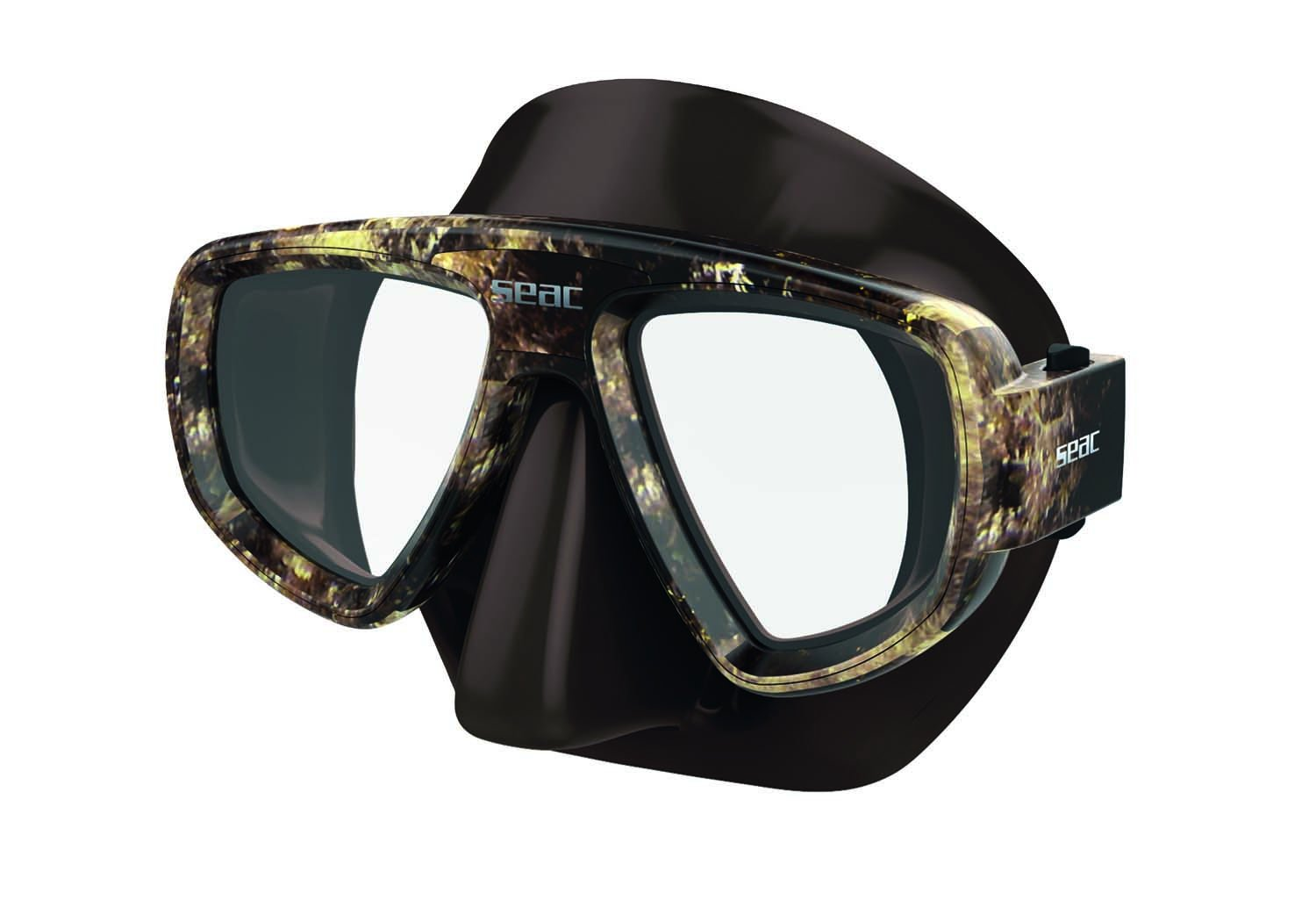 SEAC Extreme Kama Mask, Brown Camouflage by SEAC