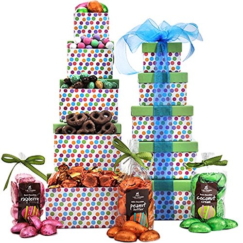 Chocolate Pretzels Asher (Father's Day Asher's Chocolate Gift Tower)