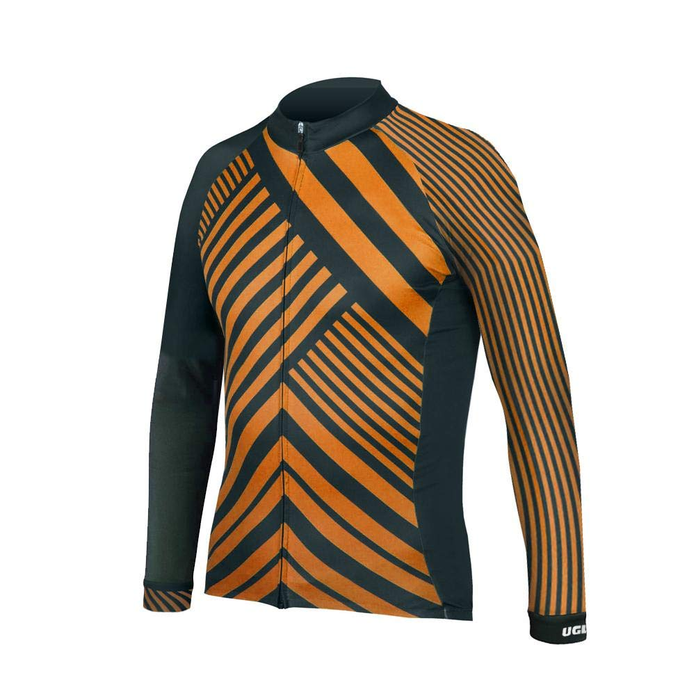Uglyfrog Cycling Jersey Cold Wear 2018 Autumn/Winter New Men Long Sleeves Warm Tops Bicycle Shirts with Fleece