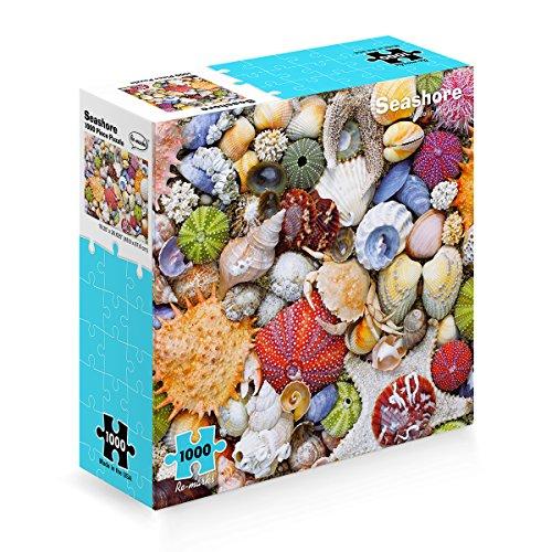 (Seashore 1000 Piece Puzzle + Mini Poster)