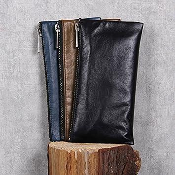 Monedero de cuero cuero artesanal money clip diseños ...