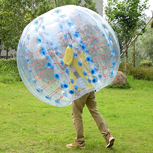 1.5M Inflatable Bumper Ball Body Zorbing Ball Zorb Bubble Soccer/Football TKT-11 by TKT-11