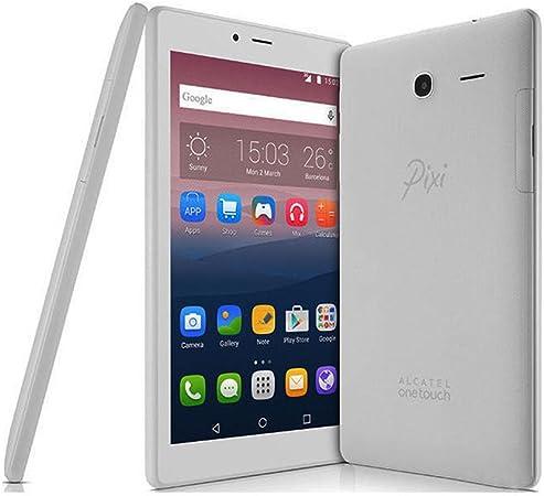 Alcatel Pixi 4 - Tablet de 7 HD (WiFi/3G, Procesador QuadCore 1.3GHz, 1GB de RAM, 8 GB de Memoria Interna, Android 6) Color Gris: Amazon.es: Electrónica