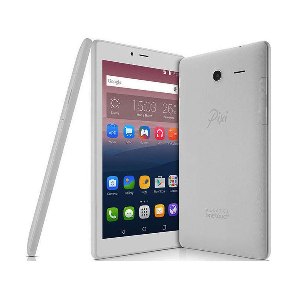 Alcatel Pixi 4 - Tablet de 7'' HD (WiFi, Procesador QuadCore 1.3GHz, 1GB de RAM, 8 GB de Memoria Interna, Android 6) Color Gris 8063-3CALES1