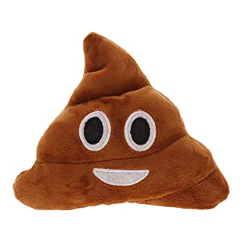 WXLAA Creative Cute Poop Shits Plush Toy Pillow Cushion Home Living Decor for Bed Sofa Car,Smile 01