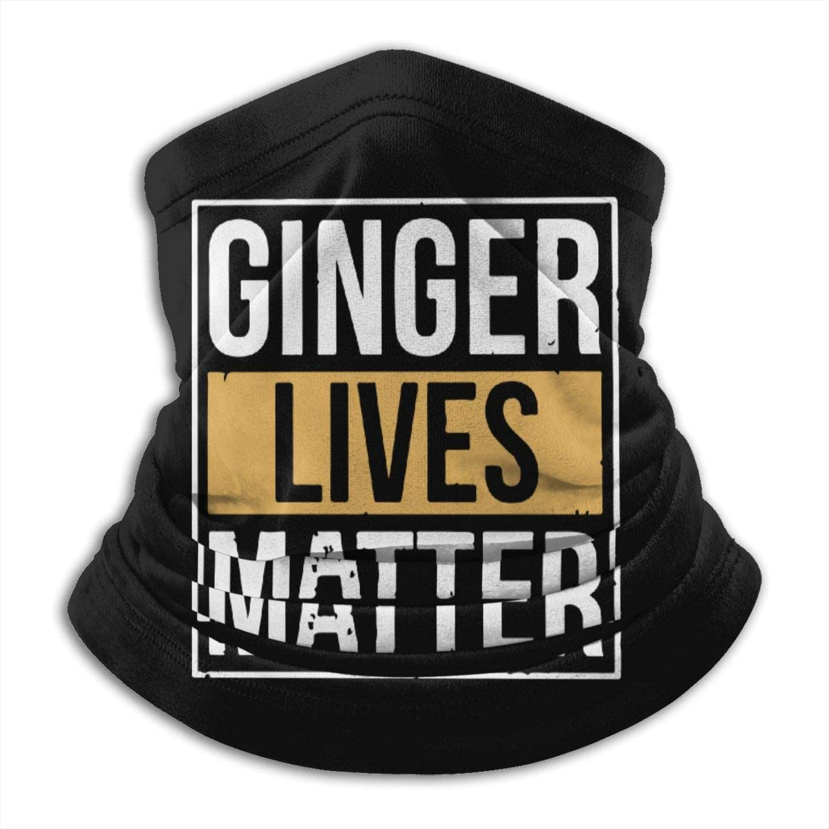 Dydan Tne Ginger Lives Matter Men Women Cold Weather Face Cover for Motorcycling