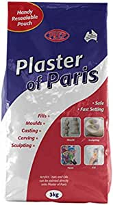 Prep PP3 Gypsum Powder Plaster of Paris 3Kg
