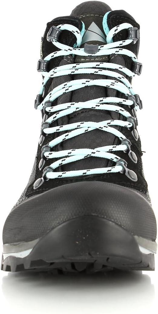 Dachstein Super Leggera Guide GTX Chaussures de randonnée Femme, Mint-Papaya 2019 graphite-eggshell blue