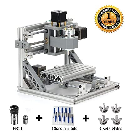 Mysweety Diy Cnc Router Kits 1610 Grbl Control Wood Carving Milling Engraving Machine Working Area 16x10x4 5cm 3 Axis 110v 240v With Er11 And 5mm