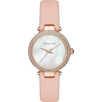 f47c55d93f96 Amazon.com  Michael Kors Women s Mini Parker Watch