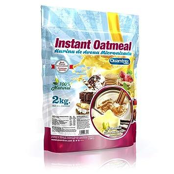 Quamtrax Nutrition Vanilla Cinnamon Avena Instantánea - 2000 gr: Amazon.es: Salud y cuidado personal