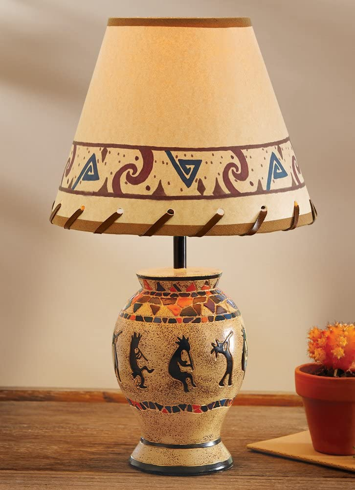 Southwestern Kokopelli Tabletop Lamp Amazon Com